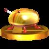 Trophy of Iridescent Glint Beetle in Super Smash Bros. for Nintendo 3DS.