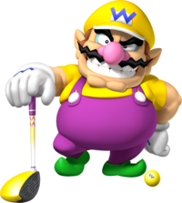 Wario Artwork - Mario Golf World Tour.png