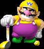 Wario artwork from Mario Golf: World Tour.