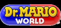 Dr. Mario World English logo
