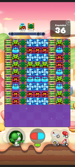 Stage 462 from Dr. Mario World