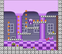Level 10-9 map in the game Mario & Wario.