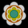 Baby Daisy emblem from Mario Kart 8