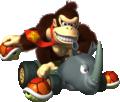 MKDS Donkey Kong Rambi Rider Artwork.png