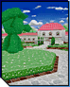 Peach Gardens icon, from Mario Kart DS.