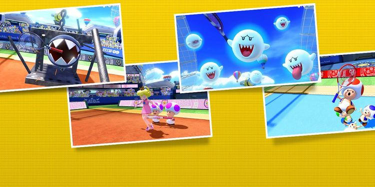 Picture shown with the first question of Mario Tennis Aces Characters Personality Quiz