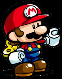 Mini Mario in Mario vs. Donkey Kong: Tipping Stars.