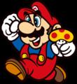 SMB - Mario jumping with mushroom.png