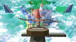 Peach's Castle in Super Smash Bros. for Wii U.