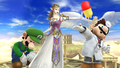 Challenge 133 from the fourteenth row of Super Smash Bros. for Wii U