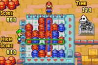 The Barrel minigame in both versions of Mario & Luigi: Superstar Saga
