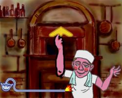 Dough Boy in WarioWare: Smooth Moves.