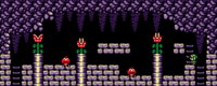 Piranha Plants in the original Link's Awakening (left) and its remake (right)