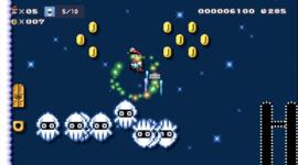 The Super Mario Maker 2 Story Mode level Blooper Barrage.