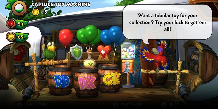 Picture shown with the first and fifth questions in Donkey Kong Country: Tropical Freeze Trivia Quiz
