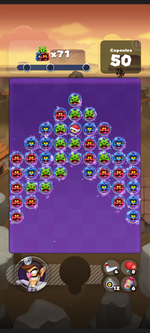 Stage 220 from Dr. Mario World