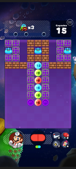 Stage 301 from Dr. Mario World