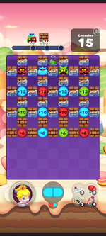 Stage 454 from Dr. Mario World