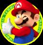 Mario from Mario Tennis Open.