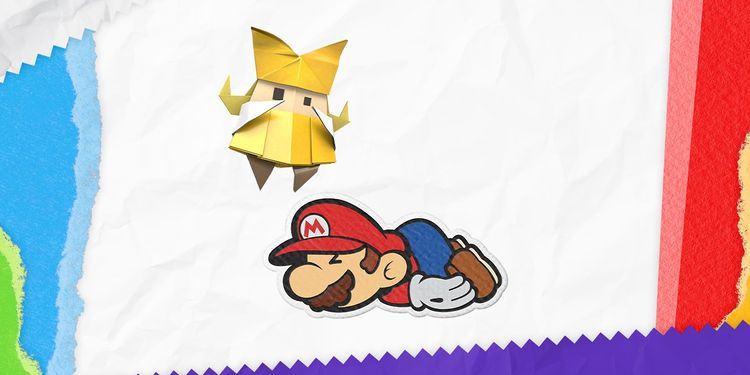 The picture shown with the second question in Paper Mario: The Origami King Trivia Quiz