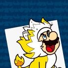 Thumbnail of a paint-by-number activity with Giga Cat Mario