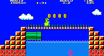 Screenshot of World 3-2 from Super Mario Bros. Special.