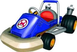 Toad Kart artwork.