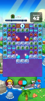 Stage 617 from Dr. Mario World