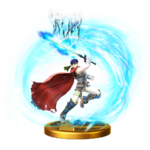 Great Aether trophy from Super Smash Bros. for Wii U