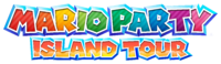 The early logo (left) compared to the final version of the logo (right), in which the most drastic change was the final title added to the logo. A diagonal stripe pattern was added to the final version of the logo.