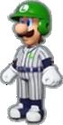 Luigi's Baseball Uniform icon in Mario Kart Live: Home Circuit