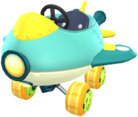 Soda Jet from Mario Kart Tour