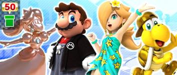 The Coin Box Pipe from the Mario vs. Luigi Tour in Mario Kart Tour
