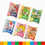 Mario character memos from Super Nintendo World