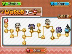 ★World 7 Map