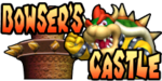 The logo for Bowser's Castle, from Mario Kart Double Dash!!.