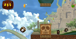 Donkey Kong in the Sky Garden