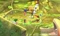 Players fighting on Super Smash Bros. Brawl Distant Planet.