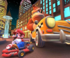 The icon of the Metal Mario Cup challenge from the New York Tour in Mario Kart Tour.