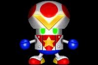 Toad Force V in Mario Party Advance
