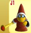 Red Magikoopa from Mario Super Sluggers