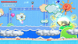 An image of Mario & Sonic at the London 2012 Olympic Games for the Wii