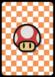 A Mushroom Card in Paper Mario: Color Splash.