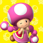 Profile of Toadette from Play Nintendo.