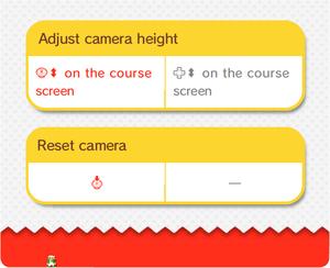 Screenshot of an 8-bit Luigi in the electronic manual for Super Mario 3D World