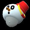 "The ""Snow Pokey Hat"" Mii headwear"