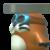 Rocky Wrench icon in Super Mario Maker 2 (New Super Mario Bros. U style)