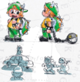 SMO Concept Art New Donker (Child Dressed as Bowser).png
