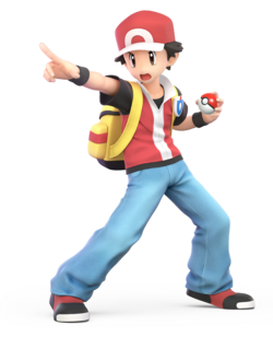 Pokémon Trainer from Super Smash Bros. Ultimate