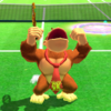 Donkey Kong's taunt from Mario Sports Superstars